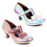 Irregular Choice Lazy River Womens Heels Party Wedding Shoes Size UK 4-8