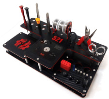 Vape stand for tab 521 Geek vape carbon look(Black-Red)