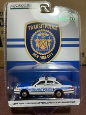 Greenlight Hobby Exclusive 1994 Ford Crown Victoria NYC Transit Police
