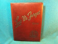 1946 UNION UNIVERSITY COLLEGE Tennessee  Lest We Forget Yearbook 1948 Available