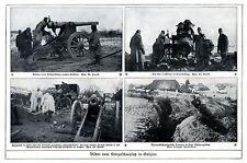 Bilder vom Kriegsschauplatz in Galizien ( Tarnung Schneehemden u.a.) 1915 * WW 1