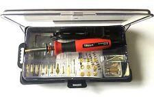 110V USA Plug Woodburning Pyrography Pen Wood/Leather Burning Tool Kit 30W 15W