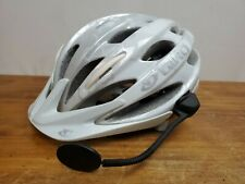 GIRO Verona Helmet Women's One Size White/Silver CYCLING Used
