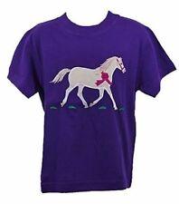 Vêtements T-shirts violette pour fille de 2 à 16 ans