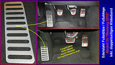 Apoyapies reposa pies Dead pedal Foot resto todos Ford Mustang 6 vi 2015 2016 2017