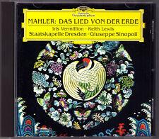 Giuseppe Sinopoli: Mahler La chanson de la Terre CD Iris Vermillion Keith Lewis