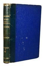 1872 INORGANIC CHEMISTRY Italian Science ALSATIAN CHEMIST Chemical Compounds