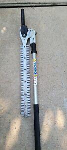 USED OEM STIHL 4243 740 5004 HL-KM 145° Adjustable Hedge Trimmer Attachment