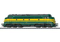 """Märklin H0 39676 Diesellok Serie 202 der SNCB/NMBS """"mfx+ / Sound"""" - NEU + OVP"""