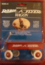 Miniature RADIO FLYER WAGON  red  1:8 scale model  MOC  VHTF