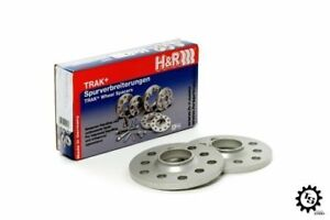 New H&R 10mm Hub Centric Adapters Wheel Spacers VW Volkswagen 57.1 to 66.5 5x112