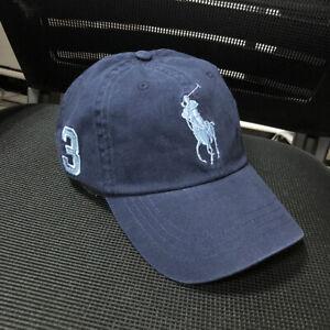 Men's Baseball Cap POLO Pony Rider NO.3 Black Navy Blue Beige Khaki Olive Denim