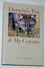 Darwin's Fox and My Coyote by Holly Menino Signed