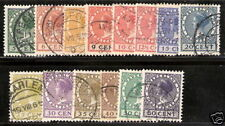 Nederland  149-162 Veth 1924-1926 mooi gestempeld/used