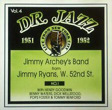 CD JIMMY banda de ARCHEY feat. Henry Goodwin,Dr. Jazz Series vol.4,Storyville