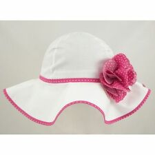 Toddler Girls Summer Hat Bonnet Holiday Beach Cap Occasion Size 6 Mths-6 Years Number 5 2 - 4 Years