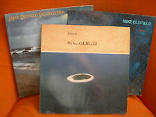 LOT 4 VINYLS 33T – MIKE OLDFIELD : ISLANDS & DISCOVERY AND LAKE & INCANTATIONS