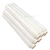 Extra Strong Clear Pallet Stretch Shrink Wrap Film 500mm x 250m 23mu x 6 Rolls