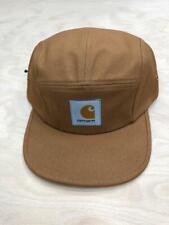 Carhartt Wip Backley 5 Panel Watch Hat Hamilton Brown  Black Cap Streetwear