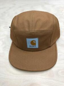 Carhartt Wip Backley 5 Panel Watch Hat Hamilton Brown  Black Cap Streetwear
