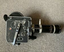 Bolex H16 Reflex 16mm cine movie camera Kern Vario Switar zoom lens 18-86 f/2.5