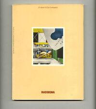 1980 V Gregotti RASSEGNA 3 Clienti di LE CORBUSIER Italian Modern DESIGN Journal