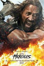 "HERCULES 27X40 ORIGINAL 2014 D/S MOVIE POSTER - DWAYNE 'THE ROCK"" JOHNSON"