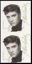 US 5009a Elvis Presley imperf NDC vert pair MNH 2015