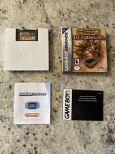 Dungeons & Dragons: Eye of the Beholder Complete CIB Nintendo Game Boy Advance