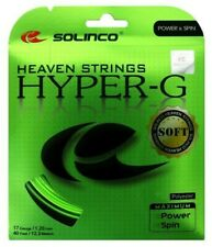 Solinco Hyper G Hyper-G Soft 17 Gauge 1.20mm Tennis String NEW