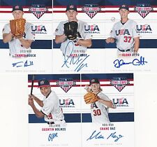 Glenn Otto 2017 Stars & Stripes USA Baseball Signatures 327/499