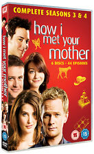 HOW I MET YOUR MOTHER - SEASON 3 TO 4 - DVD - REGION 2 UK