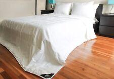 Triumph Hill Mulberry Silk Jacquard Cotton Case Medium Weight Comforter Queen