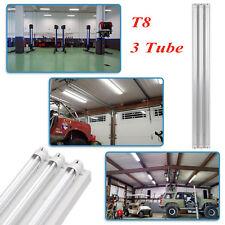 NEW 4 foot 5400Lumens 66Watt LED Shop Work Garage Light Fixture White 5000K OY