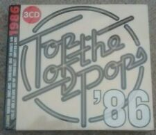 Various Artists : Top of the Pops: '86 1986 (3 CD Box Set, 2018) *New & Sealed