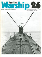 WARSHIP PROFILE 26 RUBIS WW2 FREE FRENCH SUBMARINE DESIGN DETAILS WARTIME OPS