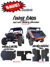 Polaris General 1000 Fenders & Protection Panel Combo Deal by MudBusters