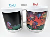 Wondermugs Color Changing I Love Balloons Coffee Cup Mug