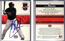 Chris Marrero Signed 2008 TRISTAR #174 Card Washington Nationals Auto Autograph