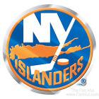New York Islanders NY Raised 3D COLOR Metal Auto Emblem Home Decal NHL Hockey