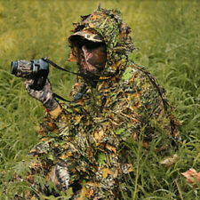 3D Lightweight Hunting Airsoft Sniper Ghillie Suit Breathable Camouflage Suit