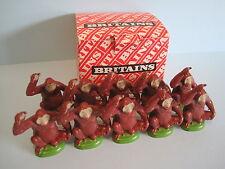 Britains Plastica Zoo Animali: commercio Box di x10 ORANGO