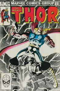 Thor #334 VF/NM; Marvel | save on shipping - details inside