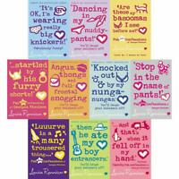 Confessions of Georgia Nicolson Series Louise Rennison 10 Books Collection Set