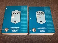 2001 Chevy Astro & GMC Safari Van Shop Service Repair Manual Set LS LT SLE SLT