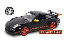 1/43 PORSCHE 911 997 GT3 RS BLACK DIECAST MODEL CAR BY ROAD SIGNATURE # 43204