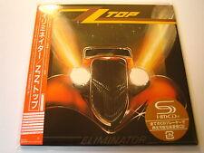 "ZZ TOP ""Eliminator"" Japan mini LP SHM CD"