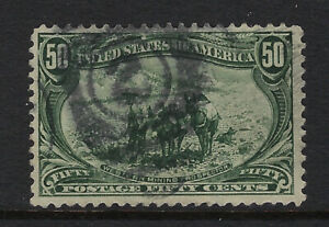 U.S.A.:1898 Trans-Mississippi Exposition 50c deep grey-green  #291 used