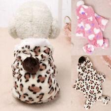 Hiver Chaud Animal De Compagnie Petit Chien Chat Chiot Vêtements à combinaison