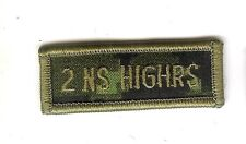 Obsolete Modern Canadian Army CADPAT 2 NS HIGHRS Title